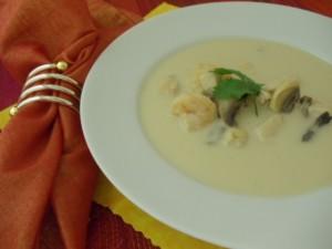chicken & shrimp soup