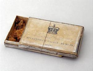 Piece of Queen Victoria's wedding cake